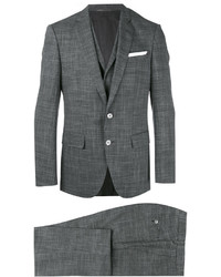 Hugo Boss Boss Glen Plaid Two Piece Suit