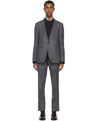 Ermenegildo Zegna Grey Prince Of Wales Suit