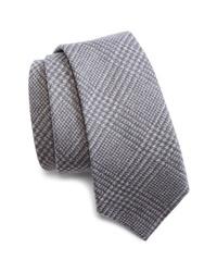 Brunello Cucinelli Plaid Wool Tie