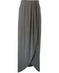Solid maxi skirt medium 95512