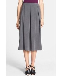 Chelsea28 Deep Fold Midi Skirt