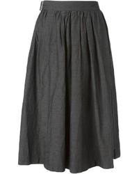 Comme Des Garcons Comme Des Garcons Comme Des Garons Comme Des Garons Pleated Buckle Skirt