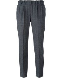 Brunello Cucinelli Pleated Cropped Trousers