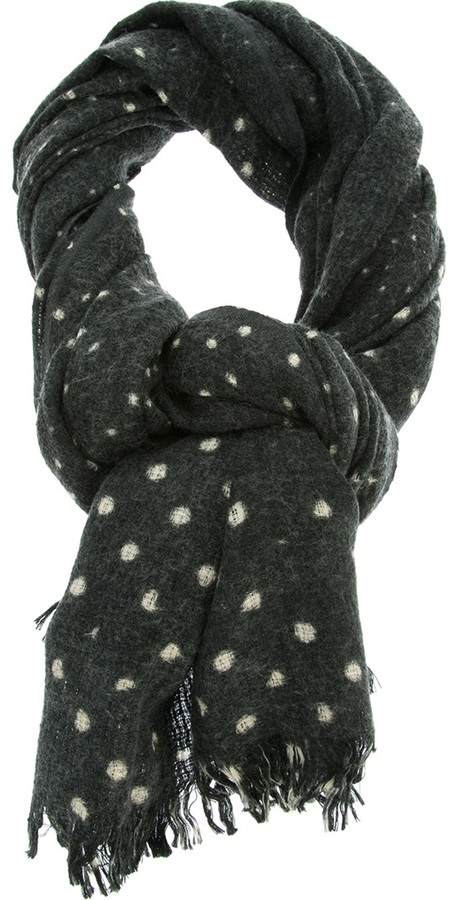 Closed Spotted Scarf