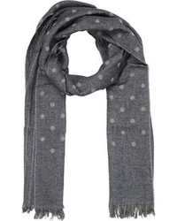 Reversible stripe dot scarf medium 96716