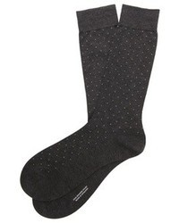 Pantherella Gadsbury Motif Pin Dot Socks