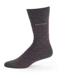 Hugo Boss Polka Dot Socks