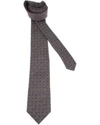 Charcoal Polka Dot Tie