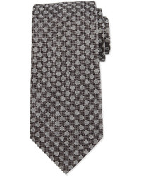 Tom Ford Large Dot Patterned Tie Gray