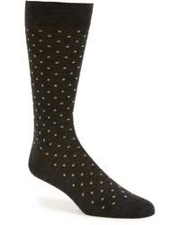 Pantherella Hackney All Over Polka Dot Socks