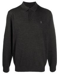 Polo Ralph Lauren Knitted Long Sleeved Polo Shirt