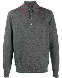PS Paul Smith Long Sleeve Polo Shirt