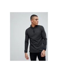 Esprit Long Sleeve Polo Shirt