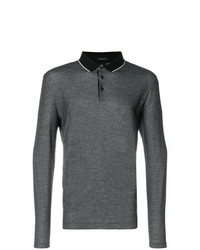 BOSS HUGO BOSS Long Sleeved Polo Shirt