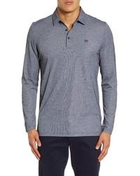 TravisMathew Roundabout Long Sleeve Polo Shirt