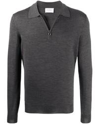 Salvatore Ferragamo Zip Fastening Polo Shirt