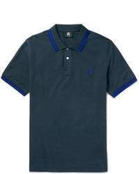 Paul Smith Ps By Slim Fit Contrast Tipped Cotton Polo Shirt