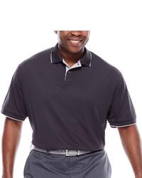 Claiborne Short Sleeve Performance Polo Big Tall
