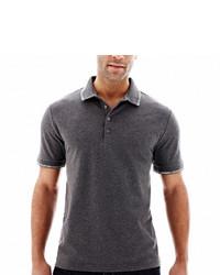 Claiborne Tipped Piqu Polo Shirt