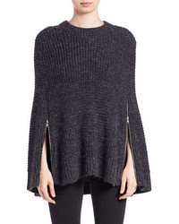French Connection Cara Knit Poncho