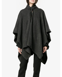 Balenciaga Draped Knitted Poncho