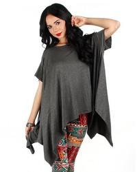 Fashion Club Usa Over Sized Poncho Top