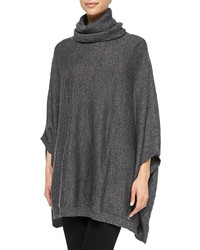 Joie Jalea Turtleneck Poncho Sweater