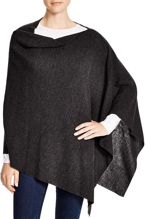 10a8c6dca Eileen Fisher Merino Wool Poncho, $158   Bloomingdale's   Lookastic.com