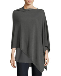 Sleek tencelmerino poncho medium 4400641