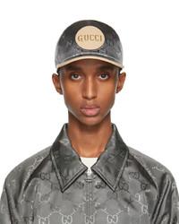 Gucci Grey Off The Grid Baseball Cap