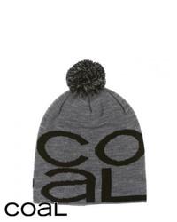 Coal the logo beanie heather grey medium 116908
