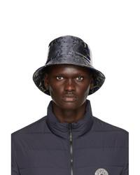 Versace Grey Snake Bucket Hat