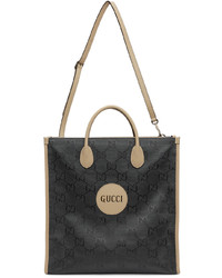 Gucci Grey Off The Grid Long Gg Eco Tote