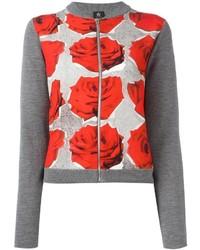 Paul smith ps by rose print cardigan medium 965501