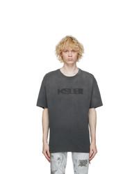 Ksubi Black Sign Of The Times T Shirt