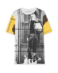 JW Anderson Gilbert Printed Cotton Jersey T Shirt