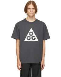 Nike Grey Acg Logo T Shirt