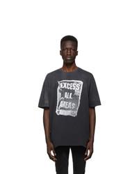 Ksubi Grey Excess Biggie T Shirt