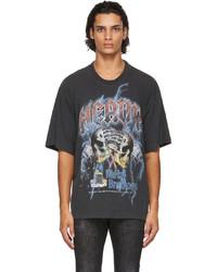 DSQUARED2 Grey Heavy Rock Iron T Shirt