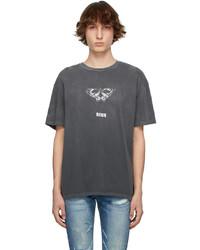 Ksubi Grey Mayhem Biggie T Shirt