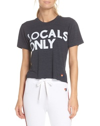 Aviator Nation Locals Only Boyfriend Tee