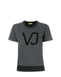 Versace Jeans Logo Applique T Shirt