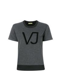 Versace Jeans Logo Applique T Shirt