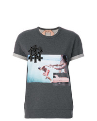 N°21 N21 Photographic Print T Shirt
