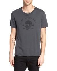 John Varvatos Star Usa Los Angeles Skull Graphic T Shirt
