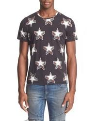 Stardust print cotton t shirt medium 603557