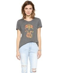 Studded skull morning after tee medium 17832