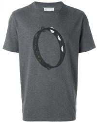 Tambourine print t shirt medium 616318