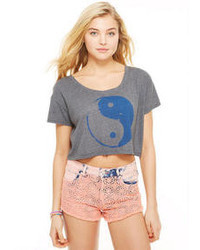 Yin yang yin yang crop tee medium 33793