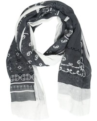 Destin Surl Bandana Printed Cotton Cashmere Scarf
